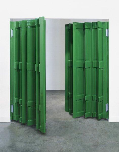 2:  JIM  LAMBIE  b. 1964  Green Door, 2004  Gloss house