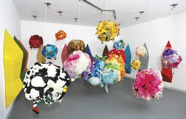 13:  MIKE  KELLEY  b. 1954  Deodorized Central Mass wit