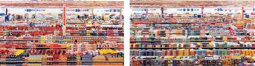 38 ANDREAS GURSKY B 1955 99 Cent II Diptychon 20