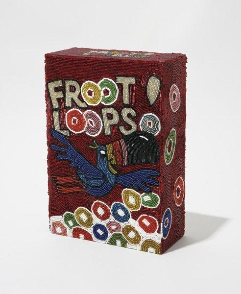 103:  LIZA  LOU  b. 1969  Fruit Loops, 1996  Plastic be