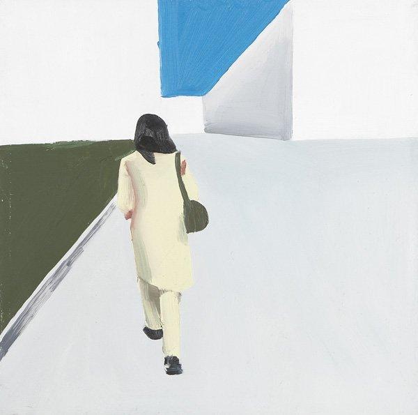 119:  WILHELM  SASNAL  b. 1972  Untitled, 1999  Oil on