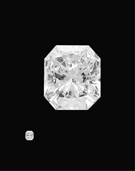 204:        A Magnificent Diamond Ring   Set to the cen
