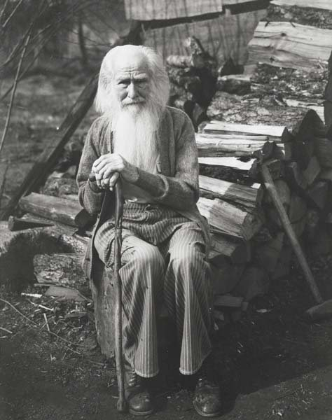 310: IMOGEN CUNNINGHAM, 1883-1976 My father at ninety,