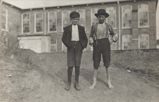 311: LEWIS HINE, 1874-1940 Willie and Fred Crocker, Wyl