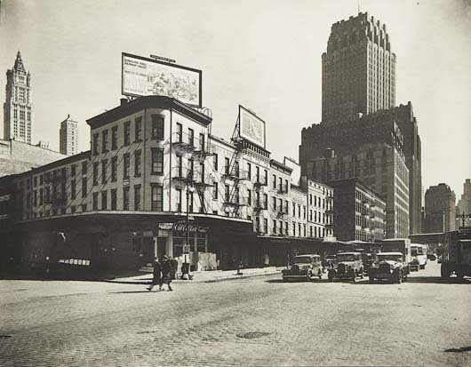 312: BERENICE ABBOTT, 1898-1991 West Street Row: V, bet