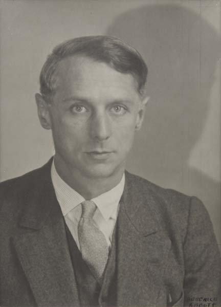 313: BERENICE ABBOTT, 1898-1991 Portrait of Max Ernst,