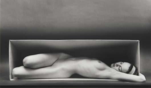 324: RUTH BERNHARD, 1905-2006 In the box- horizontal, 1