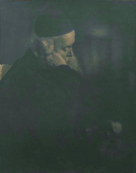 101: HEINRICH KUHN, 1886-1944 Rabbi, circa 1907 Pigmen