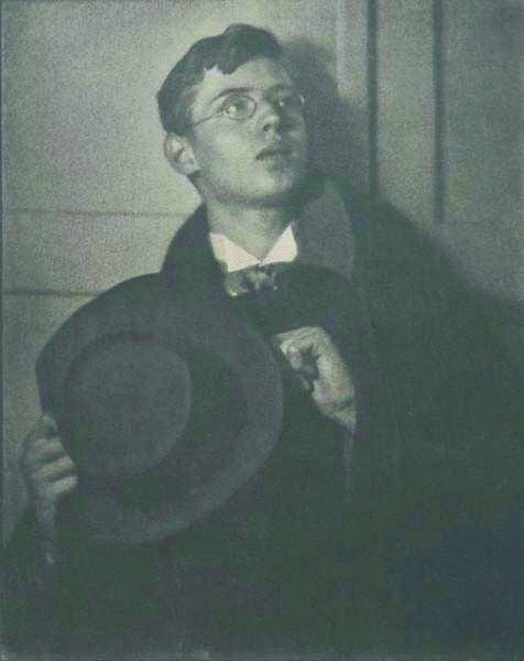 103: HEINRICH KUHN, 1886-1944 Young man, circa 1910 Gu