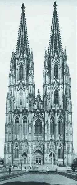 106: AUGUST SANDER, 1876-1964 Der Dom (Cathedral), 1930