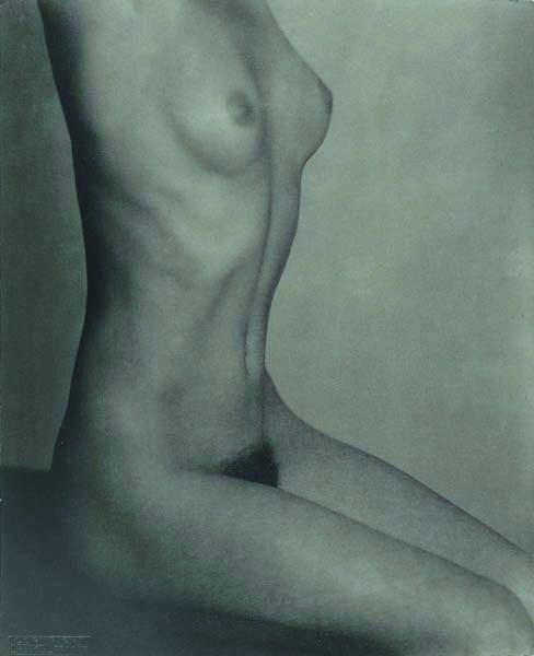 183: FRANTISEK DRTIKOL, 1883-1961 Torso, 1929 Pigment