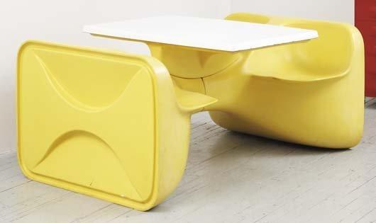 """2006: ROGER LANDAULT """"Unibloc 4"""" seating unit, ca. 1972"""