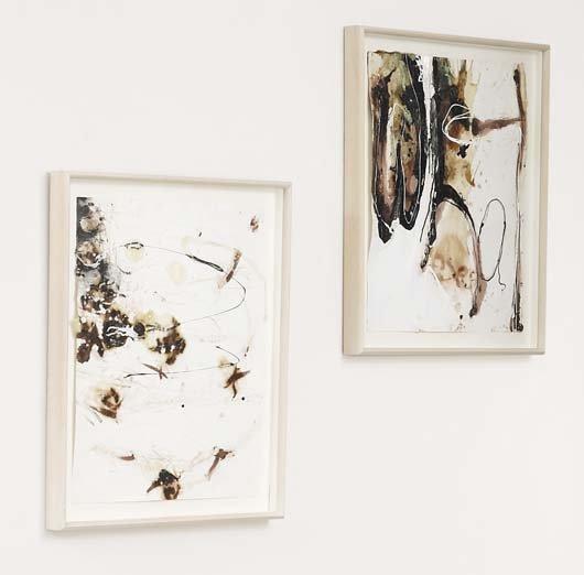 2008: SUZANNE MCCLELLAND, b. 1959 Two works: (i) Everaf