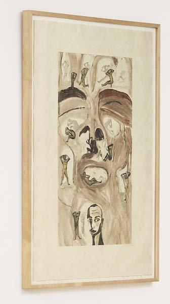 2012: FRANCESCO CLEMENTE, b. 1952 Untitled #73, 1986 Mo