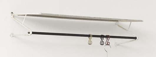 2020: MATHIEU MATÉGOT, 1910-2001 Coat rack, 1950s Paint