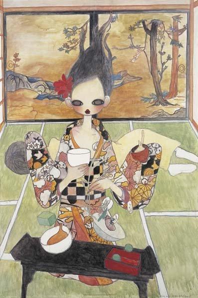 2282: AYA TAKANO, b. 1976 The Weightless Room, 2006 Off