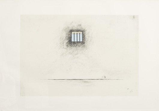 1005: ROBERT GOBER, b. 1954 Untitled (Prison), 2000 Lit