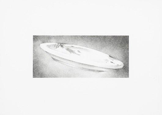 1009: ED RUSCHA, b. 1937 Dish, 1973 Lithograph, onRive