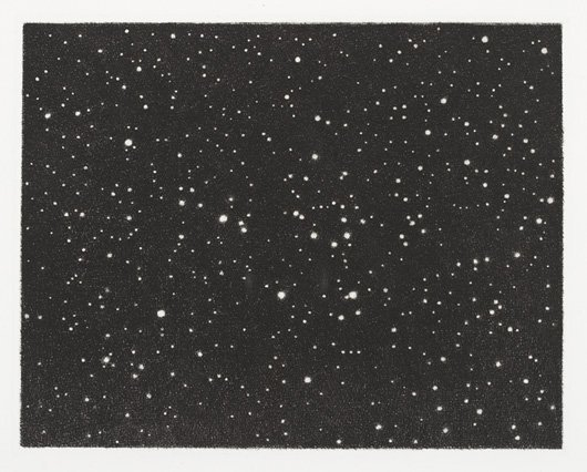 1011: VIJA CELMINS, b. 1938 Untitled (Galaxy), 1986 Etc