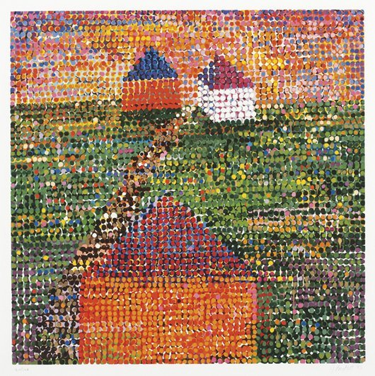 1013: JENNIFER BARTLETT, b. 1941 Houses, 2005 Screenpri