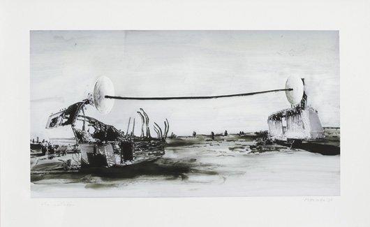1023: DIRK SKREBER, b. 1961 The Collusion, 2007 Ditone