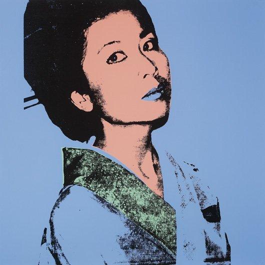 1079: ANDY WARHOL, 1928-1987 Kimiko, 1981 Screenprint i