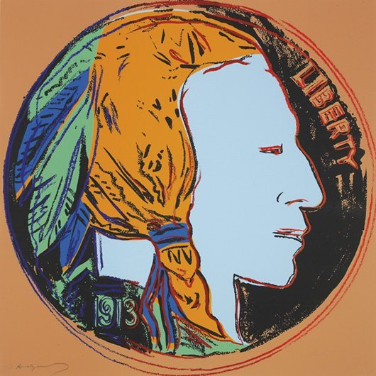 1094: ANDY WARHOL, 1928-1987 Cowboys and Indians Portfo