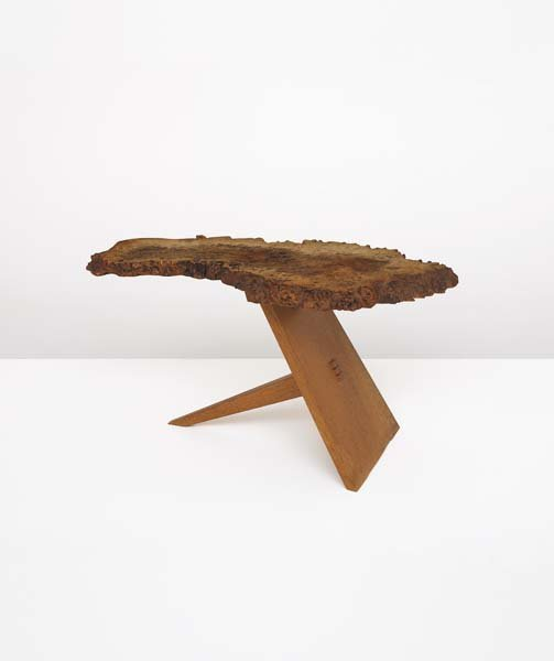 1: GEORGE NAKASHIMA, 1905-1990 Rare side table, 1976 Bu