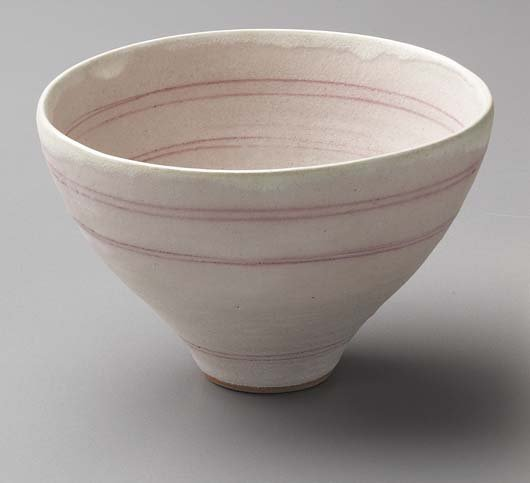 24: LUCIE RIE, 1901-1995 Conical bowl, ca. 1980 Porcela
