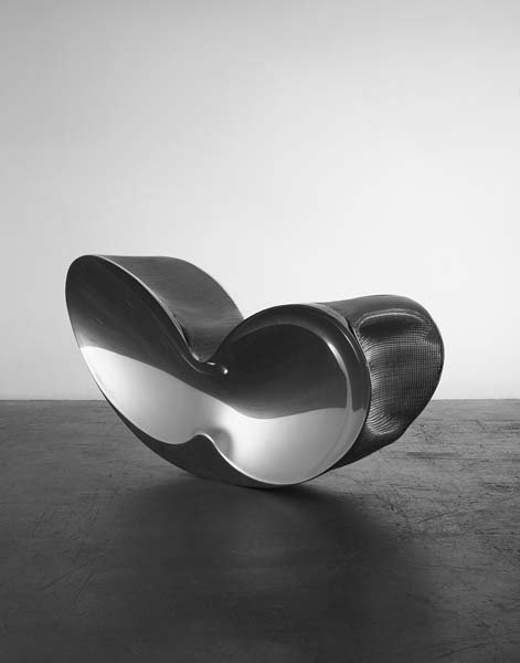 "149: RON ARAD, b. 1951 ""Blo-Void 6"" chair, 2006 Polishe"