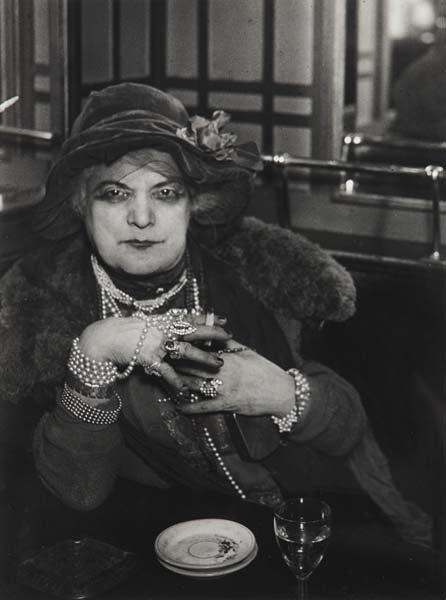 1006: BRASSAI, 1899-1984 Madame Bijou in the Bar de la