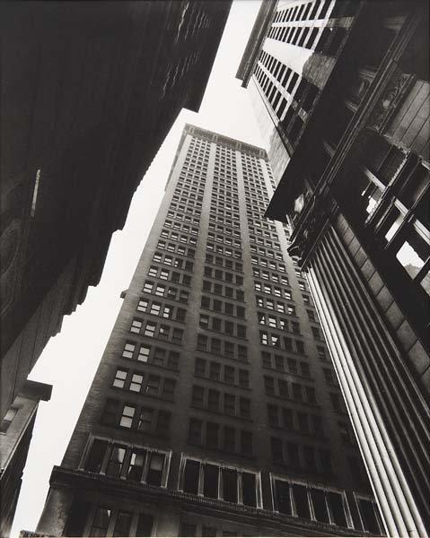 1010: BERENICE ABBOTT, 1898-1991 Canyon, Broadway and E