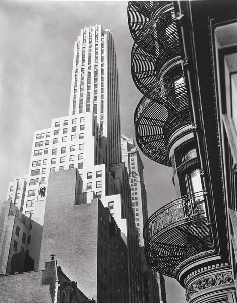 1011: BERENICE ABBOTT, 1898-1991 Murray Hill Hotel, spi