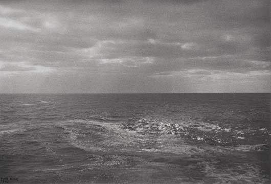 1014: ILSE BING, 1899-1998 Seascape, 1936 Gelatin silve