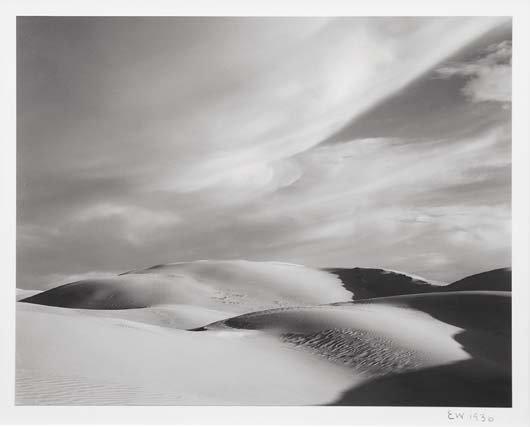 1016: EDWARD WESTON, 1886-1958 Dunes Oceano, California