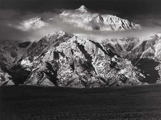 1018: ANSEL ADAMS, 1902-1984 Mt. Williamson, Sierra Nev