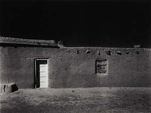 1019: ANSEL ADAMS, 1902-1984 Penitente Morada, coyote,