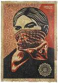 388: SHEPARD FAIREY, b. 1970 Zapatista Woman HPM, 2005