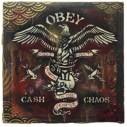416: Shepard Fairey, b. 1970 Obey Cash and Chaos, 2005