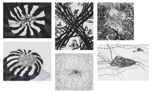 2001: FRANZ ACKERMANN, b. 1963 Mental Maps, 2000 The co