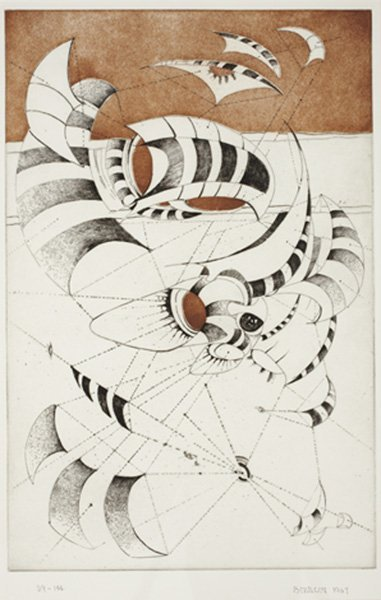 2006: LEE BONTECOU, b. 1931 Untitled, from National Col