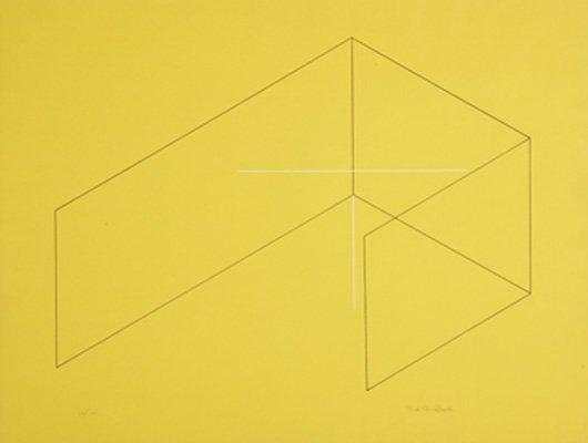 2007: FRED SANDBACK, 1943-2003 Untitled, 1970 Screenpri