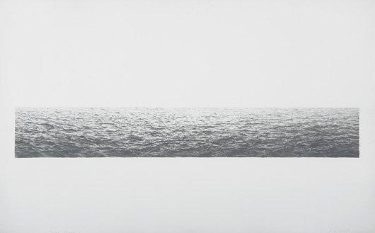 2018: VIJA CELMINS, b. 1938 Untitled (Ocean), 1972 Lith
