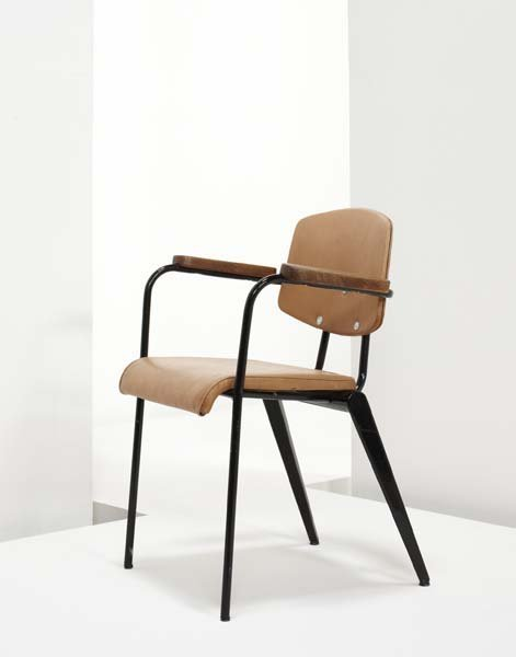 "10: JEAN PROUVE, 1901-1984  ""Conference No. 355"" chair,"