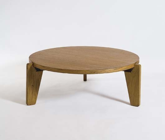 11: JEAN PROUVE, 1901-1984  Low table, model no. GB 21,