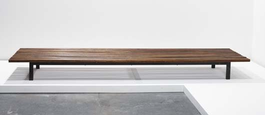 23: CHARLOTTE PERRIAND, 1903-1999  Bench, from Cite Can