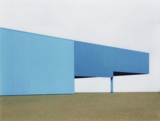 JOSEF SCHULZ, Hall blue #3, 2001