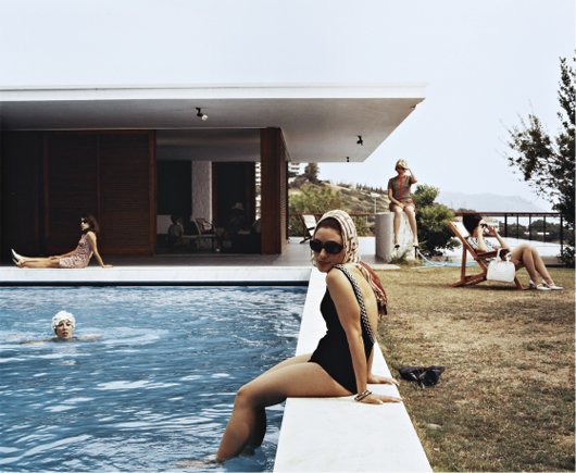 EVE SUSSMAN, Girls at the Pool (photographic still from