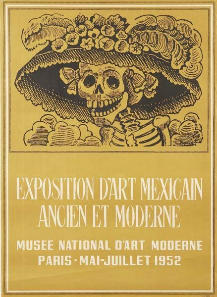 13: EXHIBITION POSTER FROM MUSEE NATIONAL D'ART MODERNE