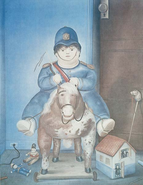 22: AFTER FERNANDO BOTERO, b. 1932